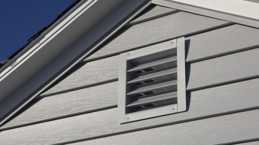 Square Gable Vent